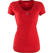 Antigua Women's Los Angeles Angels Red Pep T-Shirt