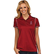 Antigua Women's Los Angeles Angels Icon Red Performance Polo