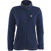 Antigua Women's Washington Nationals Navy Ice Jacket