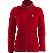Antigua Women's Cincinnati Reds Ice Red Jacket