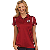 Antigua Women's Cincinnati Reds Icon Red Performance Polo
