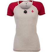 Antigua Women's Boston Red Sox White/Red Crush T-Shirt