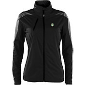 Antigua Women's Oakland Athletics Full-Zip Black Discover Jacket