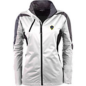 Antigua Women's Los Angeles Galaxy White Discover Full-Zip Jacket