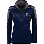 Antigua Women's Sporting Kansas City Navy Discover Full-Zip Jacket