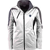 Antigua Women's Sporting Kansas City White Discover Full-Zip Jacket