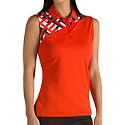 Antigua Women's Mischief Sleeveless Golf Polo