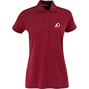 Antigua Women's Washington Redskins Red Spark Polo