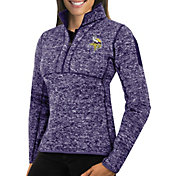 Antigua Women's Minnesota Vikings Fortune Purple Pullover Jacket