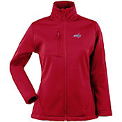 Antigua Women's Washington Capitals Traverse Soft Shell Full-Zip Red Jacket