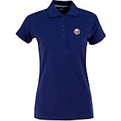 Antigua Women's New York Islanders Royal Blue Spark Polo
