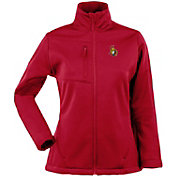 Antigua Women's Ottawa Senators Traverse Soft Shell Full-Zip Red Jacket