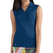 Antigua Women's Avail Sleeveless Golf Polo