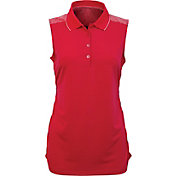Antigua Women's Movement Sleeveless Golf Polo