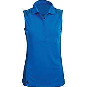 Antigua Women's Stroke Sleeveless Golf Polo