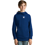 Antigua Youth Memphis Tigers Blue Victory Pullover Hoodie