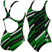 Arena Girls' Melan Swim-Pro Back Swimsuit