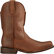 Ariat Men's Rambler Leather Sole Western Boots