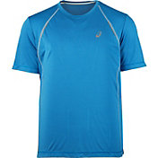 ASICS Men's Shosha Striped Running T-Shirt – Big & Tall