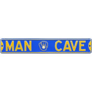 Authentic Street Signs Milwaukee Brewers 'Man Cave' Street Sign