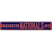 Authentic Street Signs Washington Nationals Avenue Navy Sign