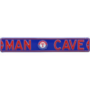 Authentic Street Signs Texas Rangers 'Man Cave' Street Sign
