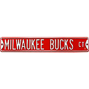 Authentic Street Signs Milwaukee Bucks Court Sign