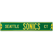 Authentic Street Signs Seattle SuperSonics Court Sign