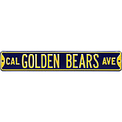 Authentic Street Signs Cal Golden Bears Avenue Navy Sign