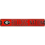 Authentic Street Signs Georgia 'Bulldog Nation' Street Sign