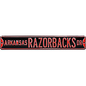 Authentic Street Signs Arkansas Razorbacks Drive Black Sign