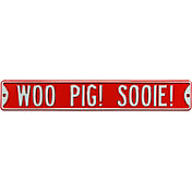 Authentic Street Signs Arkansas Razorbacks 'Woo Pig! Sooie!' Street Sign