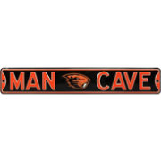 Authentic Street Signs Oregon State Beavers 'Man Cave' Street Sign