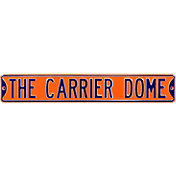 Authentic Street Signs Syracuse Orange 'Carrier Dome' Street Sign