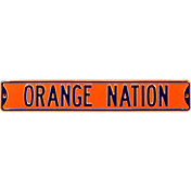 Authentic Street Signs Syracuse 'Orange Nation' Street Sign