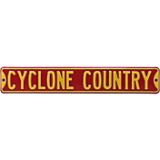 Authentic Street Signs Iowa State 'Cyclones Country' Street Sign