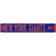 Authentic Street Signs New York Giants Avenue Blue Sign