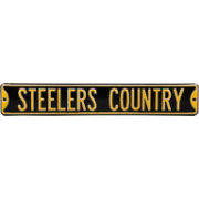 Authentic Street Signs Pittsburgh Steelers 'Steelers Country' Street Sign