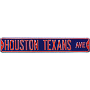 Authentic Street Signs Houston Texans Avenue Sign