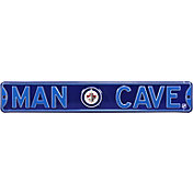 Authentic Street Signs Winnipeg Jets 'Man Cave' Street Sign