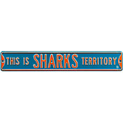Authentic Street Signs San Jose Sharks This Is Sharks Territory Sign