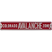 Authentic Street Signs Colorado Avalanche Zone Sign