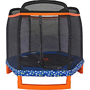 Jump Power 88'' Hexagon Trampoline with Safety Net