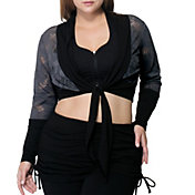 Rainbeau Curves Women's Plus Size Whitney Bolero Cardigan