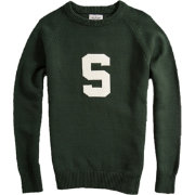 Hillflint Michigan State Spartans Green Heritage Sweater