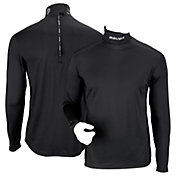 Bauer Senior Core LS Integrated Neck Top Protective Base Layer