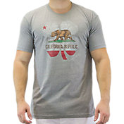 Black Clover Men's Lucky California Golf T-Shirt