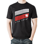 Black Clover Men's Lucky Stripes Golf T-Shirt