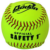 Baden 11'' Safety 1 Softballs – 12 Pack