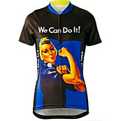 Brainstorm Gear Women's Rosie The Riveter Cycling Jersey